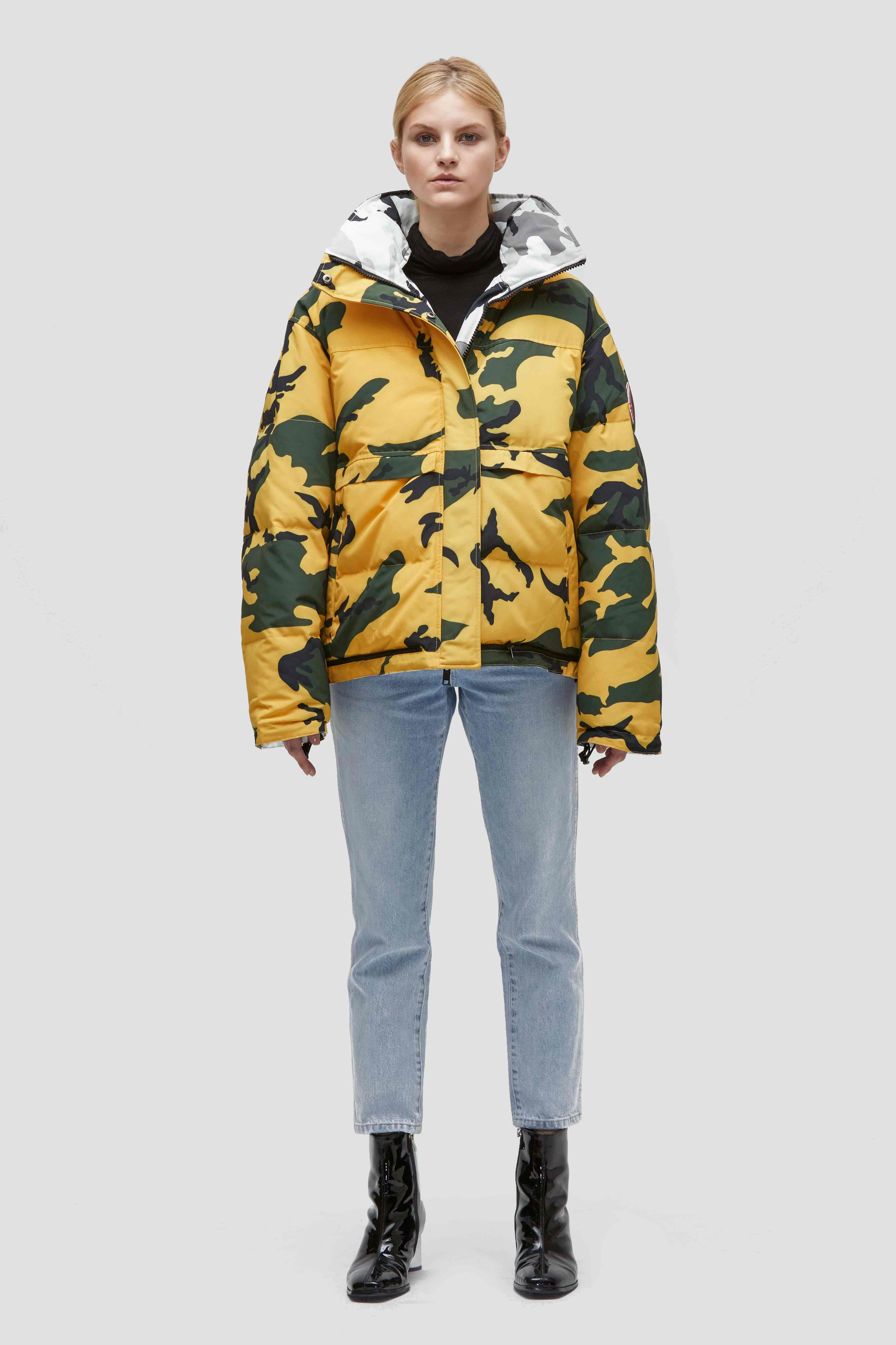 EDGII DESERT CAMO GOOSE DOWN JACKET