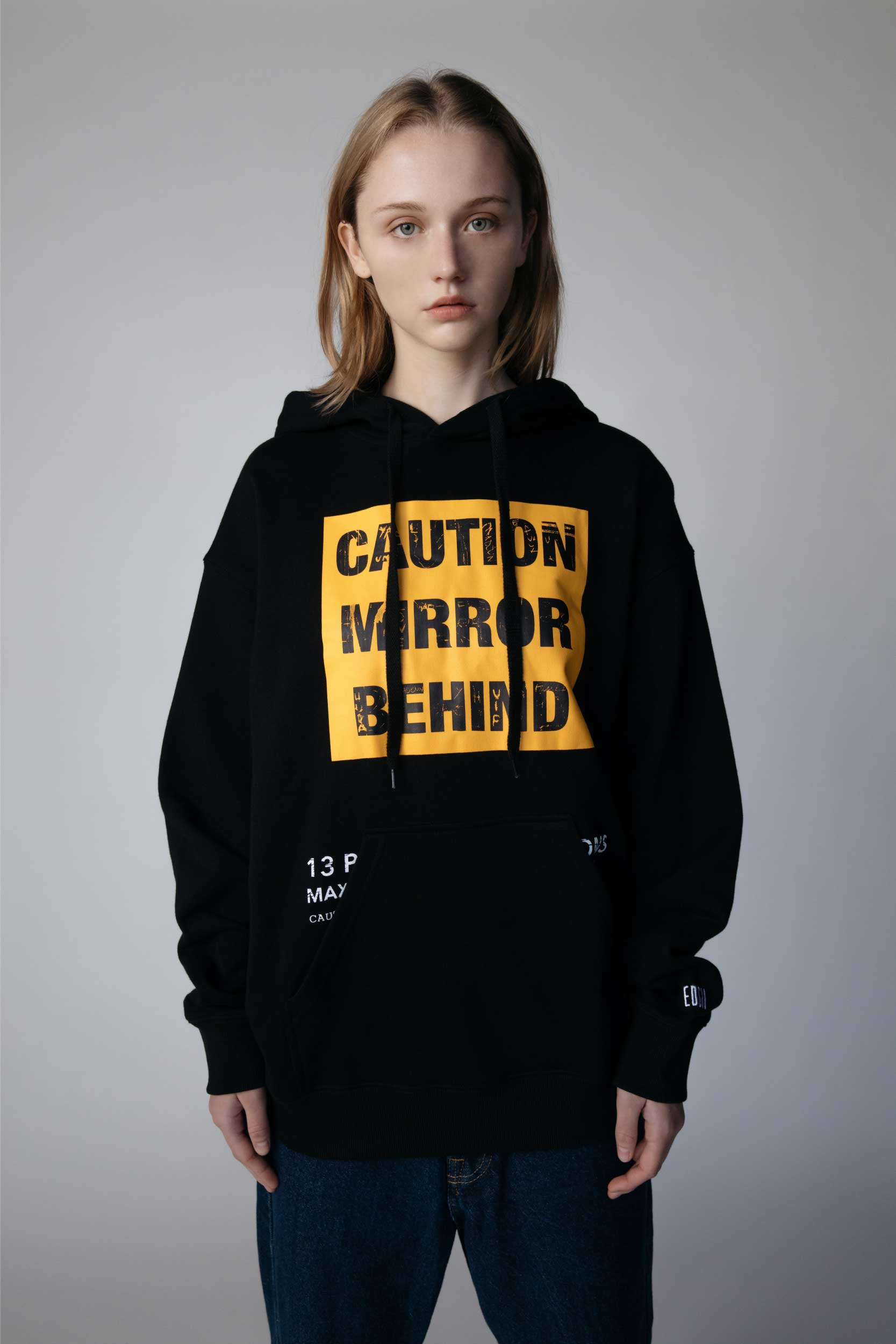 Don't Touch Hoodie-Black