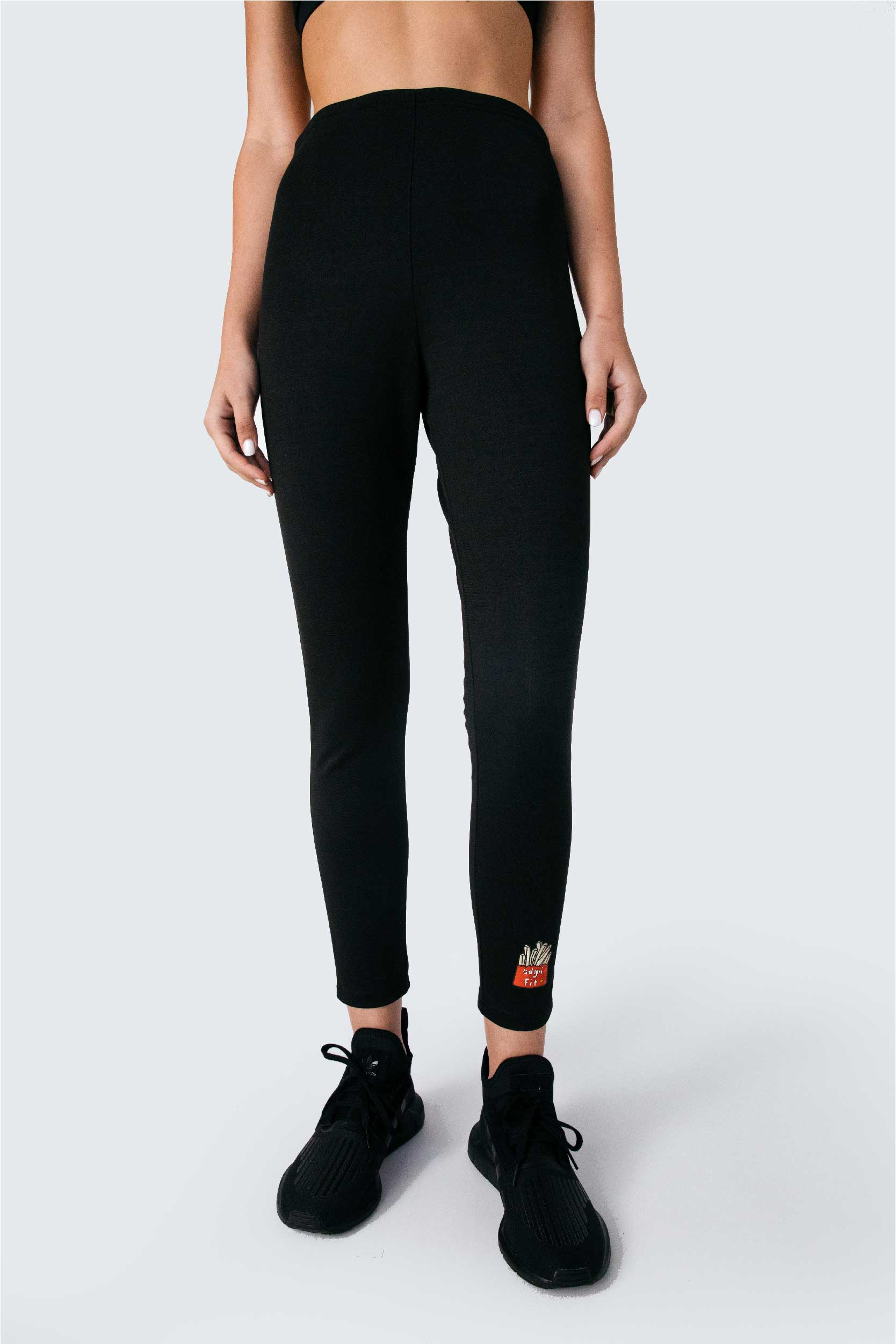 EDGII FIT⁺ basic chips logo sweat leggings