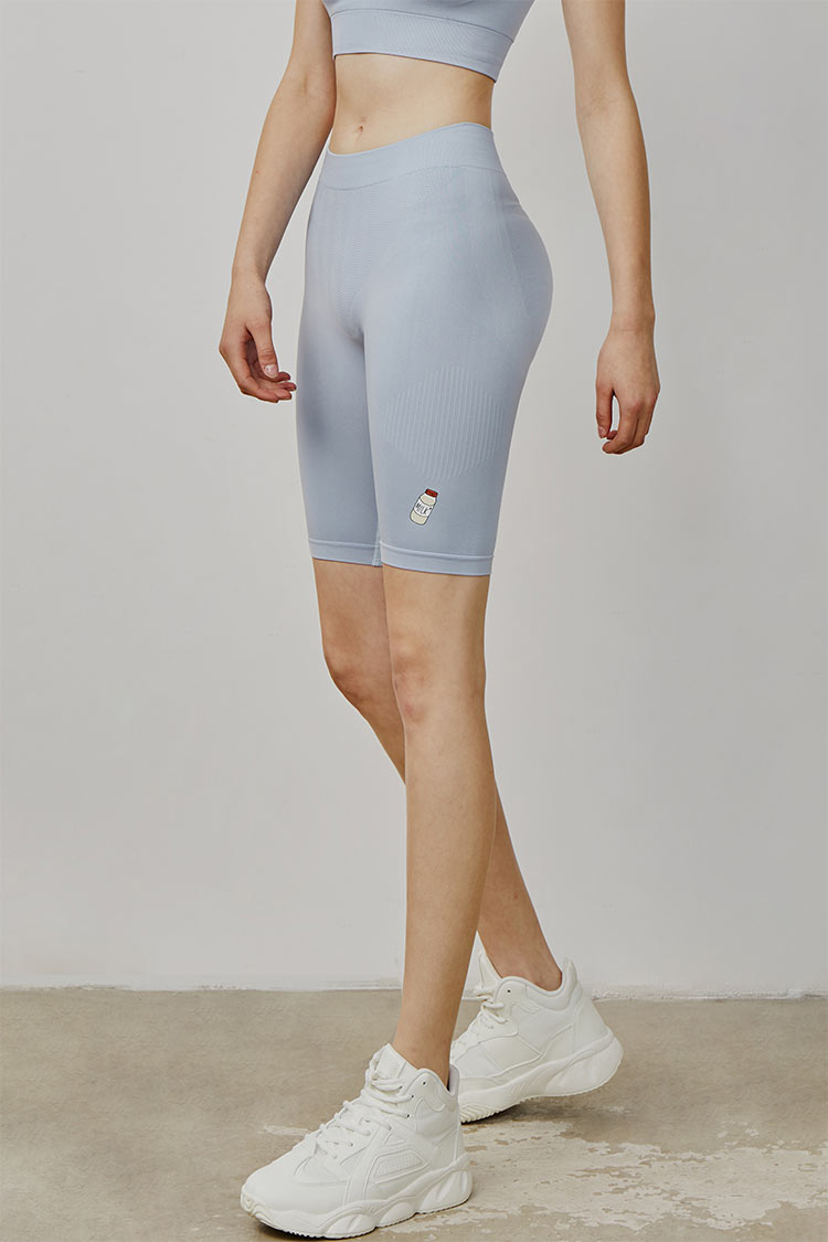 'Naked-feel' milky  slimming shorts