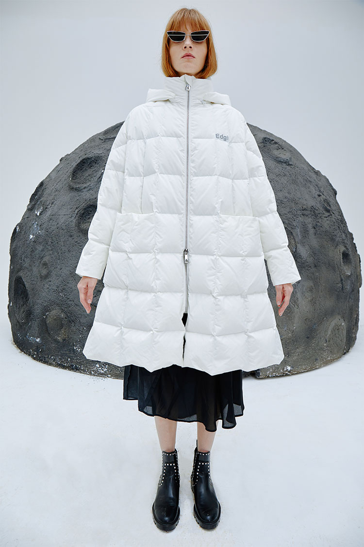 Clouds Quilt Down Jacket