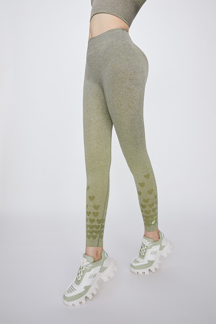 Loveocado gradient slimming leggings